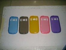 Plain TPU Gel Skin Case Cover for Nokia c7 back case
