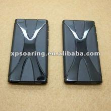 X tpu case skin back cover for ipod nano 7