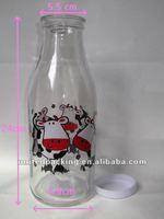 1000ML new glass milk bottles sale