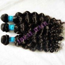 2012 new arrival soft and beatiful virgin brazilian wavy hair