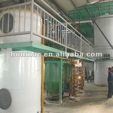 10 t / d de aceite de cocina usado equipo con ISO9001