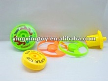 cheap funny toy plastic spinning top