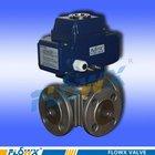 quick opening 3-way motorized valve