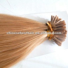 Pretty wholesale pre-bonded hair/keratin hair extension