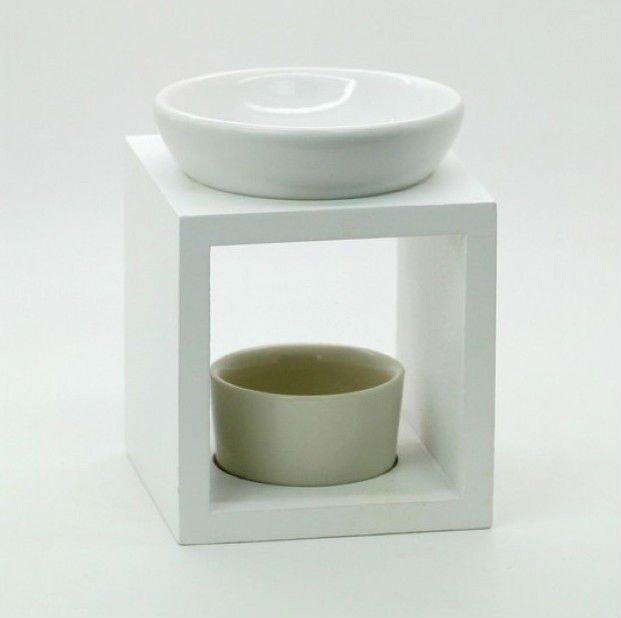 Ceramic Oil Burner ~ Wholesale ceramic oil burner with wooden rack buy