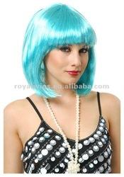2012 wholesale cute bright BOB halloween color wig