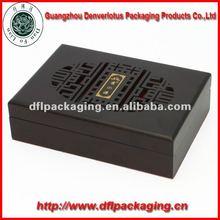 Graved wooden box matte paint