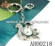 watch keychain animal duck key finder key ring for children