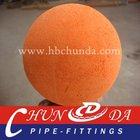 DN150 (6'') Concrete pump sponge rubber cleaning ball