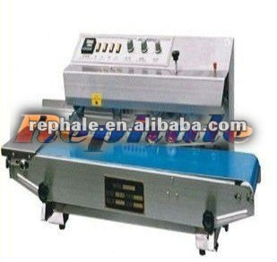 automatic packing machine Plastic /film continuous sealing machine 0086 37167670501