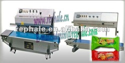 continuous Plastic /film sealing machine 0086 37167670501