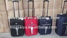 2012 3pcs Set retro Travel Trolley bag made in China