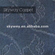 Popular velour jacquard hospitality carpet 2012