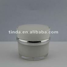 30g,50g,elliptic acrylic cream jar