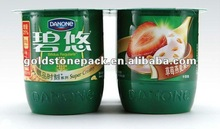 different dimension/10 colors at most printed/paper/HML/Paper label or banderole sealed to PS cups