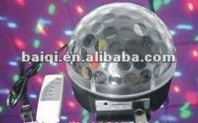 2012 New LED effect light/disco light/LED crystal magic ball with MP3