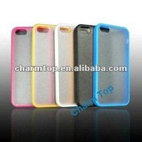 Translucent Hybrid Hard Back Case For iPhone 5 5G