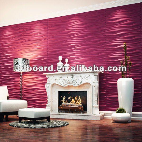 Tipos de placas de yeso sala de estar alicatados for Placas decorativas paredes interiores