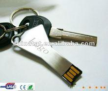 2GB Colorful Waterproof Cheapset Key Shape Best Selling Pen Drive