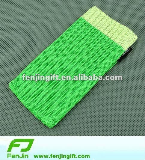 customized sock mobile phone holder