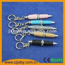 hot promotional crystal pendant usb pen drive