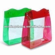 Lowest price high quality fashion plastic PVC shopping bag fashion pvc credit card case