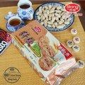 570g Helal şekersiz fıstık tadında buğday Sindirim bisküvi