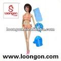 Solid loongon 11.5' bonecas boneca conjunto 4 asstd boneca banho
