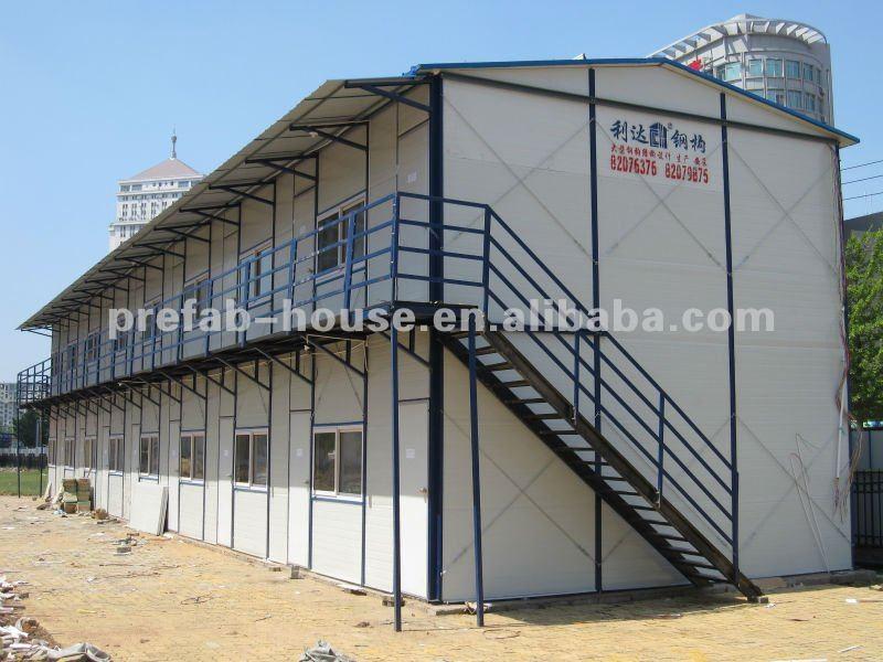 Chambre modulaire préfabriquée portative de structure métallique de bâtiment provisoire, bureau au Maroc Madagascar Mali Mauritanie Îles Maurice