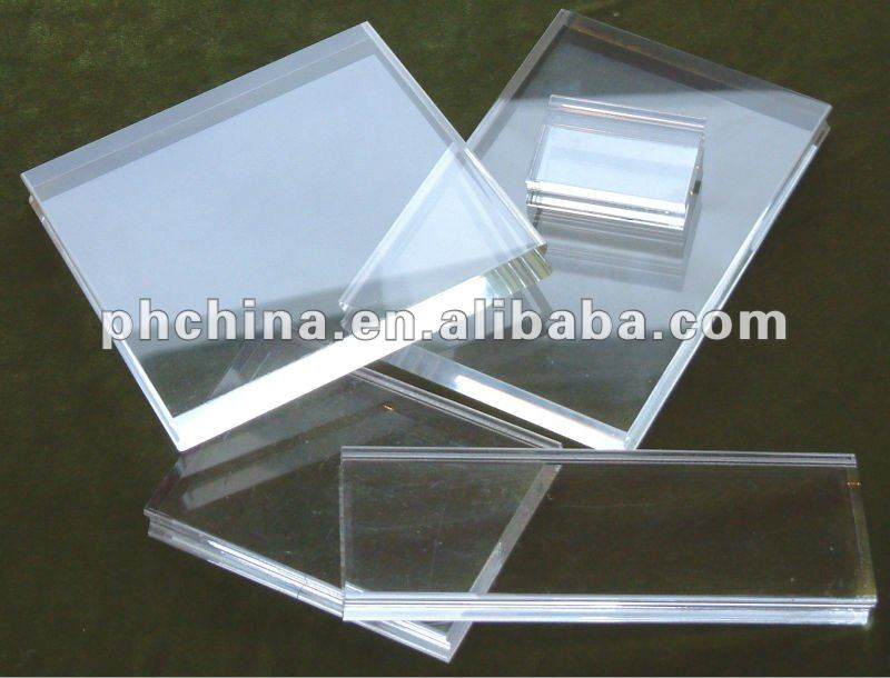 High Polished Acrylic Sheet Small Acrylic Pipe 5mm Thick