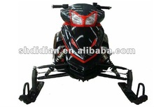 kids or adult mid-sized 250cc/300c Liquid-cooled automatic snow mobile/sled/ski/snow scooter with CE
