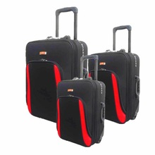 Big Compartment Retractable Trolley Luggage Case Travel Luggage Bag