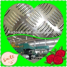 checkered or embossed Aluminum sheets or plate or panels or board for cars with metal price