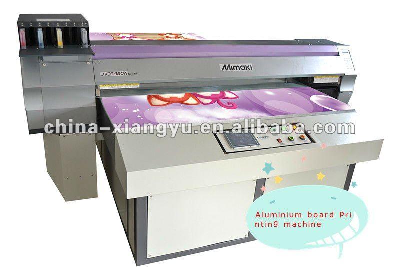 Printing machine for aluminium board materials aluminium for Digital mural printing