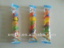 sugar coated custom gummy lollipop candy