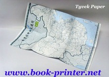 Tyvek map with packaging printing service in Shenzhen