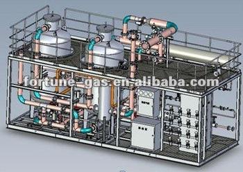 small size standardized liquid air separation plant