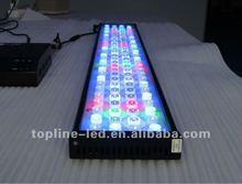 2012 newly updated super higher output CREE LED Aquarium Lights best for1.3ft/2ft/3ft/4ft/5ft aquarium fish tank/marine reef