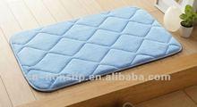 Ultra soft elastic memory foam entresol bathroom slip-resistant carpet mats doormat floor mat