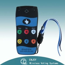 Original Factory of Wireless Voting System for Training with 360 degree handsets RF317