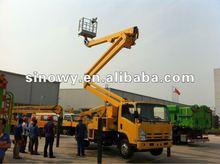 21m xcmg high lifting platform truck