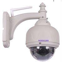 wanscam new cheap model outdoor PT IR-CUT wireless ip cam network wifi dome wireless camera ip
