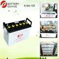 12v eléctrica de la batería del coche aprobar 12v 30ah 40ah 60ah 80ah 100ah del coche de la batería del automóvil