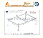 4 pillars / 4 leg 20x14m heigh 7m aluminum truss system