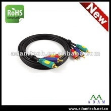 NEW 3 RCA TO 3 RCA male AV cable