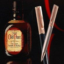 Design for whisky Rose gold writing pen