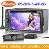Erisin 6.2Inch 2 Din Autoradio GPS Navi 3G/WiFi USB Player