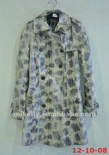 Latest fashion women trench coat.designer coat 2012