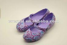 2013 fashionable eva ladies flat sandal & lady