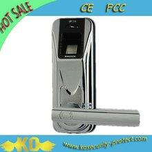 2012 new design sliding protection fingerprint door lock KO-FP80